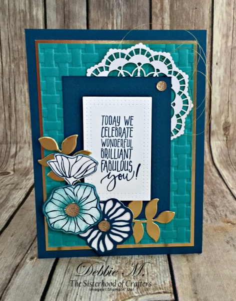 Elegant Sympathy Card Featuring #SoManyShells, #Sympathy, #SecretsToStamping, #StampinUp