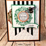 Lovely Spring Card Featuring #HelloFriend, #DragonflyDreams, #FlourishingPhrases, #SecretsToStamping, #StampinUp