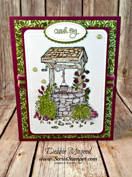 Lovely Birthday Card Featuring #BrightWishes, #DozenThoughts, #Birthday, #ShareWhatYouLove, #SecretsToStamping, #StampinUp