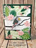 Using Bird Banter with Tropical Chic for a Fun All Occasion Card