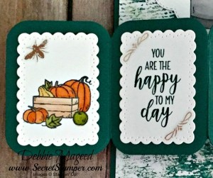 Twist Pop-Up Card Featuring #DandelionWishes, #CountryHome, #ManyBlessings, #TwistPopUp, #Autumn, #HolidayCatalog, #SecretsToStamping, #StampinUp