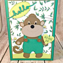 Fun Kids Cards Featuring #ALittleWild, #SizzixAnimalDressUps, #AnimalExpedition, #AllOccasion, #SecretsToStamping, #StampinUp