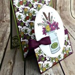 Double Easel Country Home Card for Cardz 4 Galz
