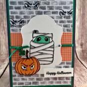 "Spooky ""Eyes"" in a Jar of Haunts for Stinkin' Inkers"