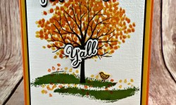 Autumn Card Featuring #ShelteringTree, #AllOccasion, #SecretsToStamping, #StampinUp