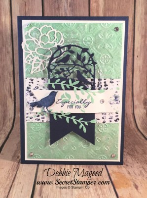 Pretty Botanical Bliss Card for Just Because Challenge at the Stinkin' Inkers