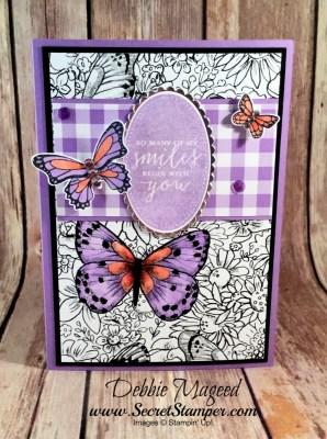Butterfly Gala Sneak Peek for the Cardz 4 Galz Challenge