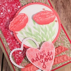 Valentiines Card Featuring Incredible Like You Stamp Set