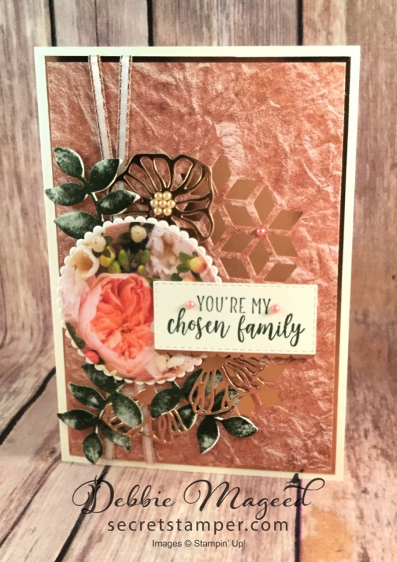 Vintage Card Featuring Part of My Story and Oh So Eclectic