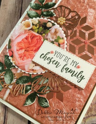 Oh So Eclectic Friendship Card with Eclectic Layers Thinlits for the Sisterhood of Crafters