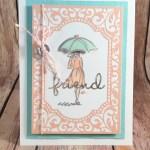 A Thank You Card Using Beautiful You for Cardz 4 Galz