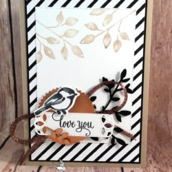 Lovely Valentine Card Using Petal Palette Stamp Set by Stampin' Up!