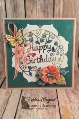 Using Brusho Crystal Colour to Make a Colorful Birthday Card for Make My Monday