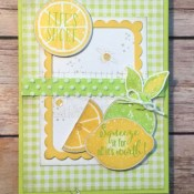 An All Occasion Card Idea Using Lemon Zest for Make My Monday