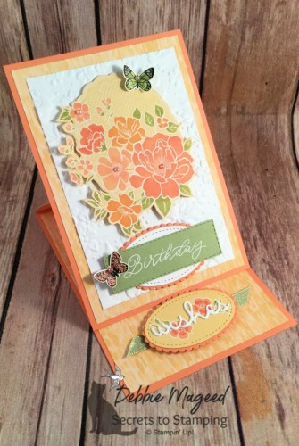 Floral Birthday Card That's Perfect for Spring using Lovely Lattice Stamp Set by Stampin' Up!