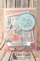 Painted Seasons Card to Celebrate Spring for the Sisterhood of Crafters