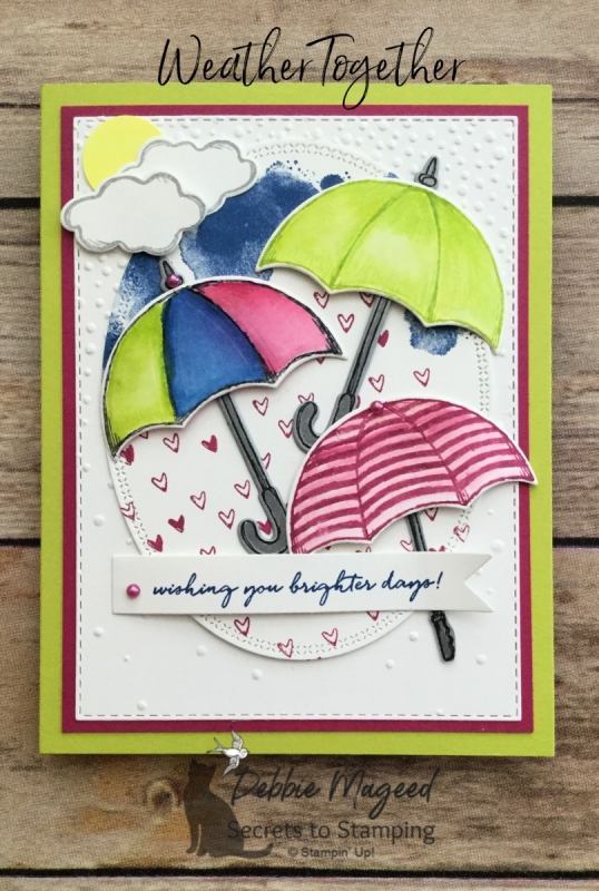 Brighten Someone's Day with a Weather Together Card by Stampin' Up!