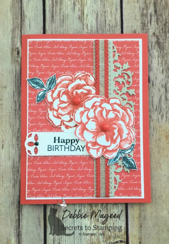 Beautiful Birthday Card Features April 2019 Paper Pumpkin by Stampin' Up!