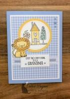 A Baby Card with Grandma's House for Cardz 4 Galz