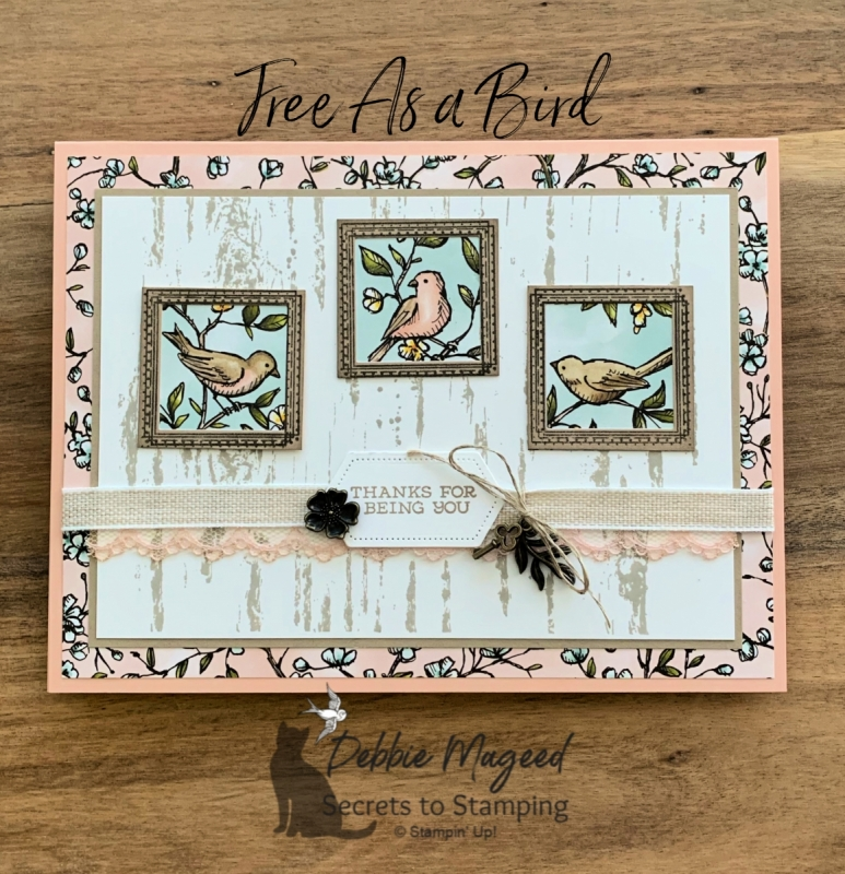 All Occasion Card Featuring Free As A Bird by Stampin' Up!