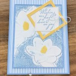 Magnolia 3D Embossing Folder with Woven Heirlooms for the Pals Blog Hop