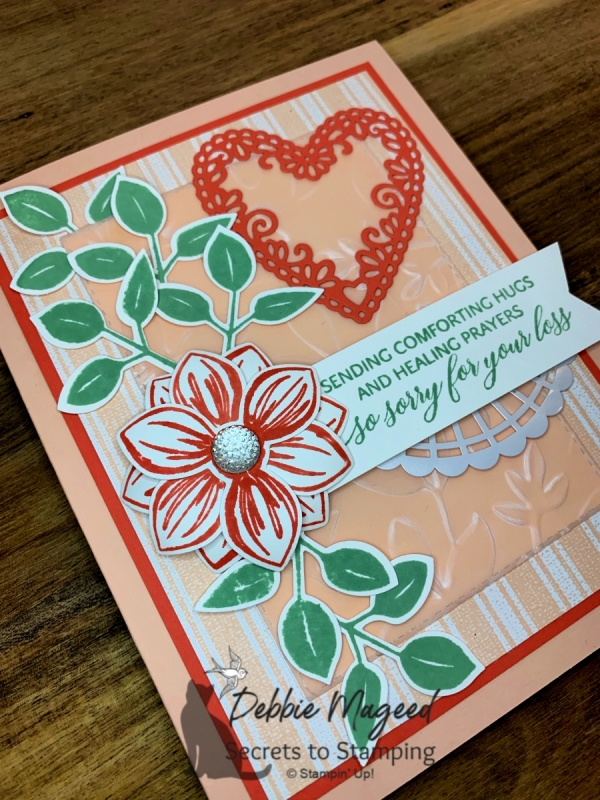 Sympathy Card featuring Floral Essence by Stampin' Up!