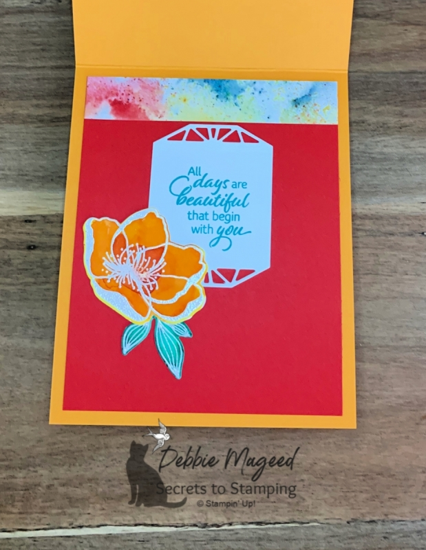 Cheerful Friendship Card using Beautiful Promenade by Stampin' Up!