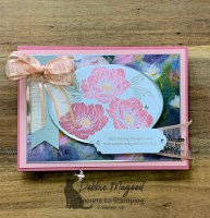 Floral Essence Birthday Card for Hand Stamped Sentiments