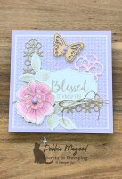Friendship Card Using To a Wild Rose for Sisterhood of Crafters