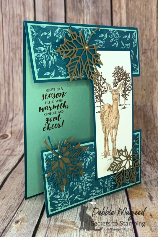 Holiday Card Featuring Nature's Beauty by Stampin' Up!