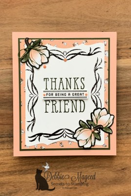 My Second Good Morning Magnolia Lane Friendship Card