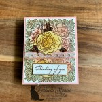Thinking of You with Breathtaking Bouquet for the Sisterhood of Crafters