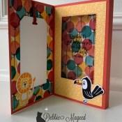 Pop Up Diorama Birthday Card For Fun Fold Friday