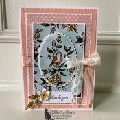 Free As A Bird Thank You Card for Make My Monday