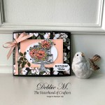 Elegant Card with Happy Birthday to You Stamps and Coordinating Dies