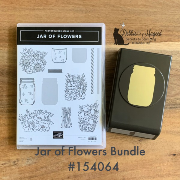 New Jar of Flowers Stamp Set by Stampin' Up!