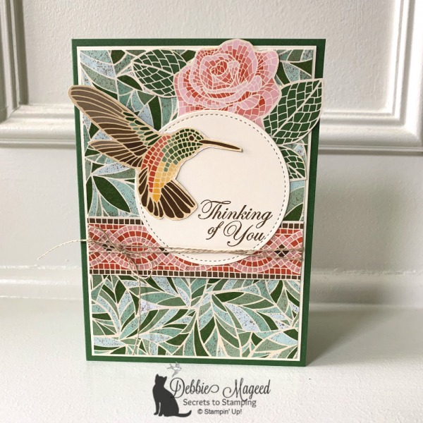 All Occasion Card Featuring Mosaic Mood DSP by Stampin' Up!