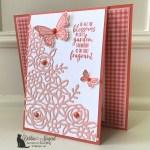 Springtime Impressions Card for the Alphabet Challenge