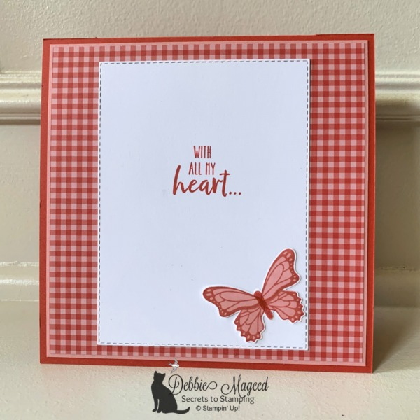 Friendship Card Featuring Springtime Impressions by Stampin' Up!