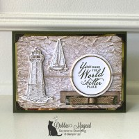 Beautiful World Father's Day Card for the Alphabet Challenge