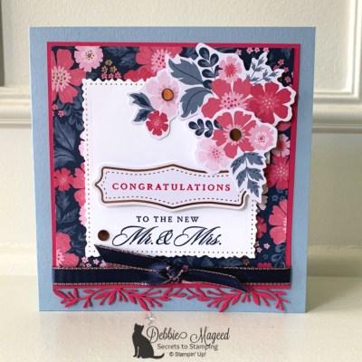 Everything Is Rosy Wedding Card for Cardz 4 Galz