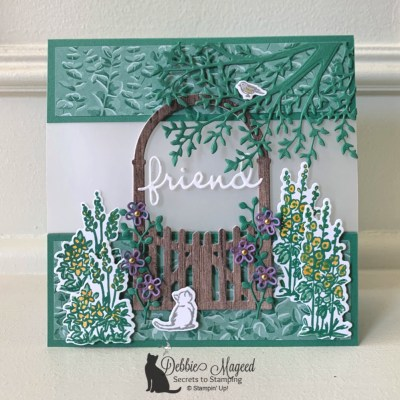 Grace's Garden Friendship Card for the Pals Blog Hop