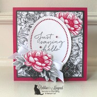 Tasteful Touches Floral Card by Stampin