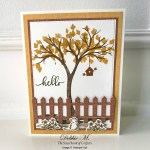 Life Is Beautiful Autumn Card for the Sisterhood of Crafters