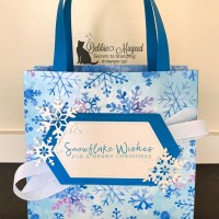 Gift Bag Featuring Snowflake Wishes by Stampin