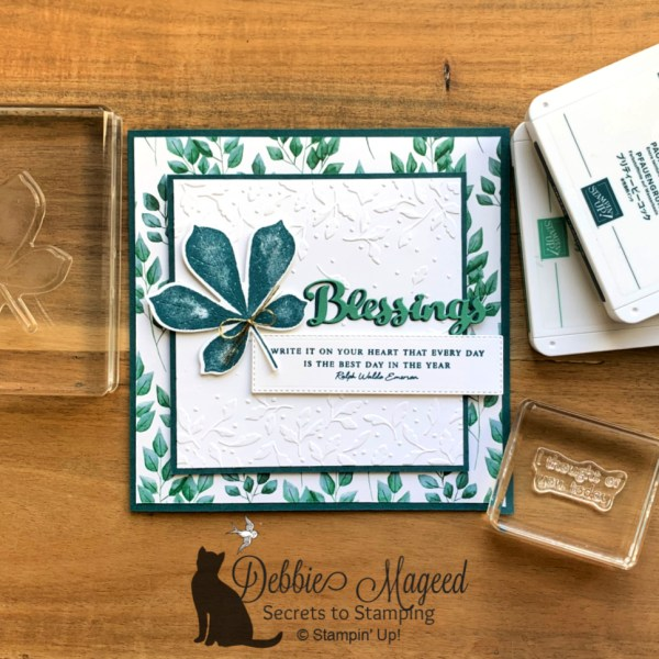 All Occasion Card Featuring Love of Leaves by Stampin' Up!