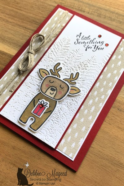 Cute Critters Made from Menagerie Mix-Up by Stampin' Up!