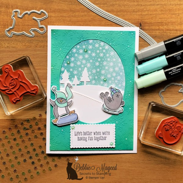 Freezin' Fun Kid's Card by Stampin' Up!