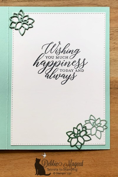 Birthday Card with Simply Succulents by Stampin' Up!