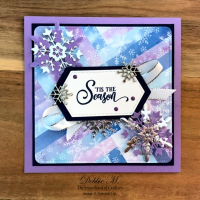 Snowflake Wishes Holiday Card for Sisterhood of Crafters